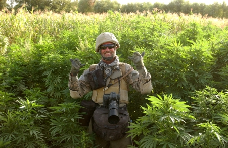 Keith Lepor on Assignment in Afghanistan
