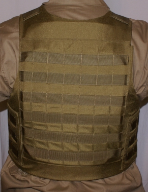 MOLLE Tactical Plate Carrier - Back