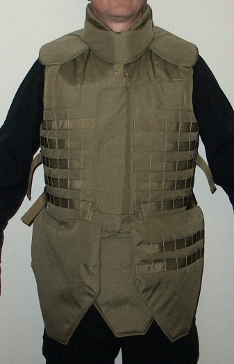 """Turtle"" Jacket  with Extra Groin Protectors - Front"