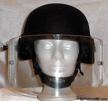 Ballistic Faceshield - Front