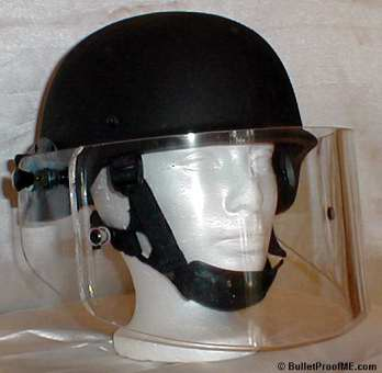 Ballistic Faceshield - Side