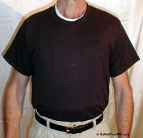 Sweat-Wicking Undershirt - Short-Sleeve in Black